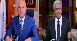 وزير النقل ينفعل علي الإبراشي